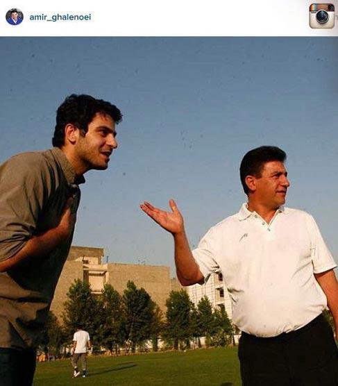 توصیه قلعه نوعی به هواداران استقلال درمورد علی ضیاء! + عکس