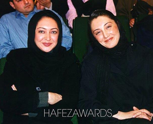هدیه تهرانی در کنار نیکی کریمی! + عکس