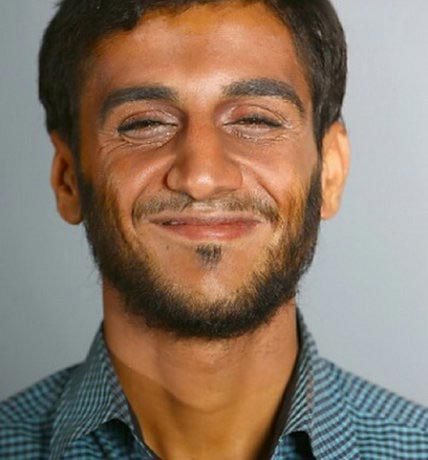 تست گریم بازیگر نقش احمدی نژاد در نهنگ عنبر! + عکس