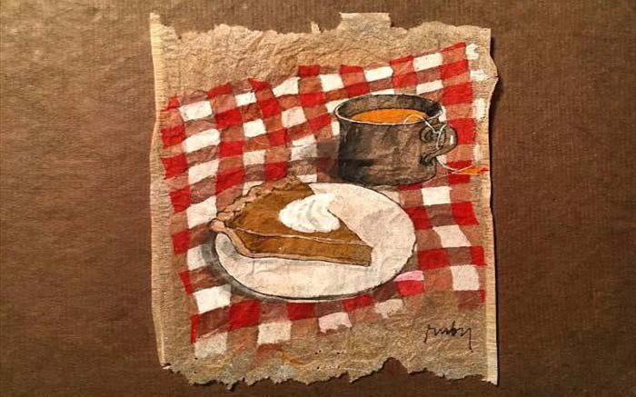 ابتکار و خلاقیت با چای کیسه ای + تصاویر