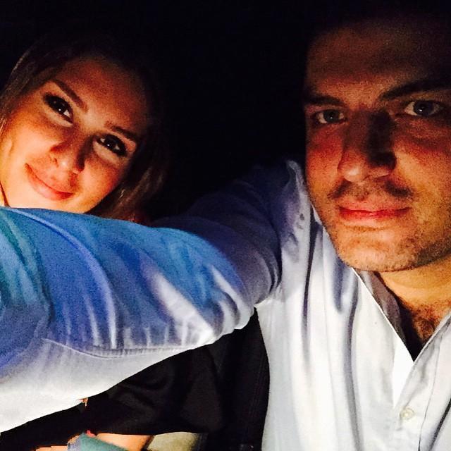 سام درخشانی و همسرش / عکس های جدید