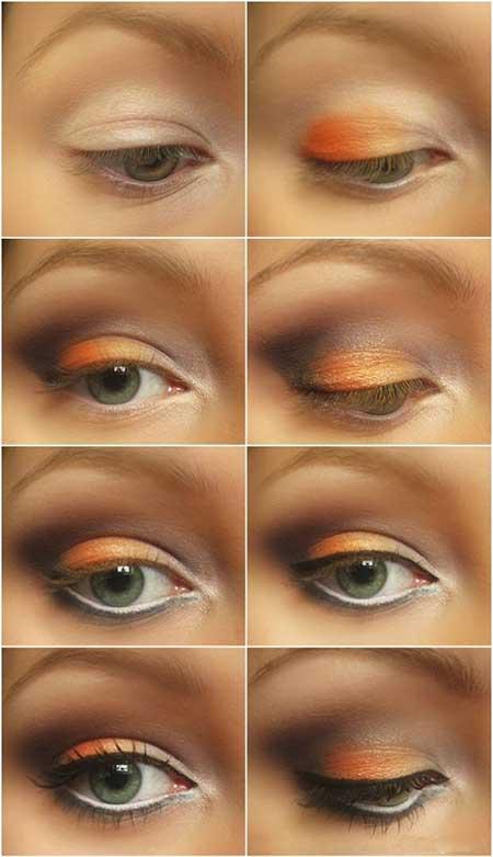 آرایش چشم مخصوص پاییز ۲۰۱۵