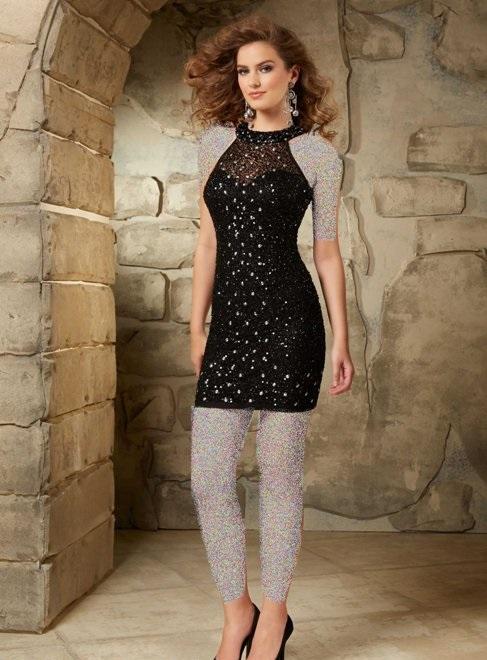 شیک ترین مدل های لباس مجلسی دخترانه کوتاه