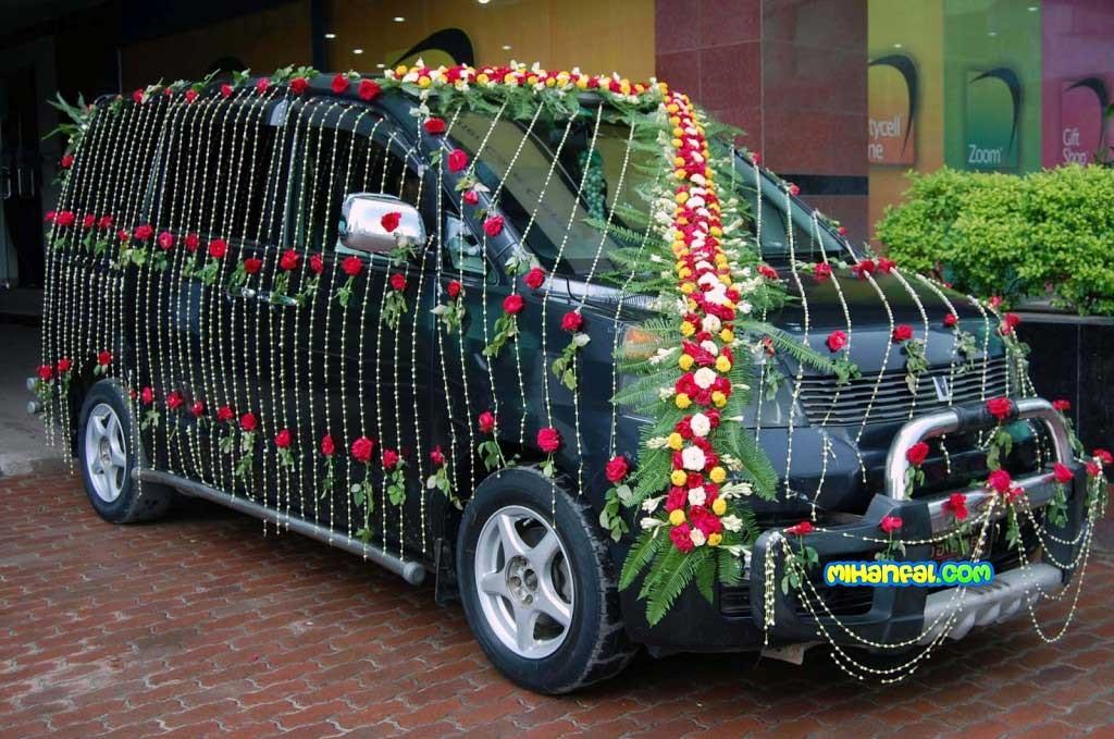 مدل های جدید تزیین ماشین عروس