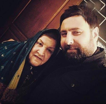 محمد علیزاده و مادرش / عکس