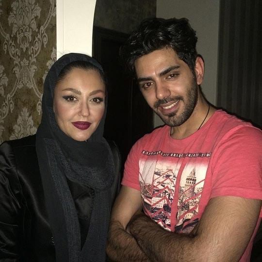 شقایق فراهانی در کنار پسرش / عکس