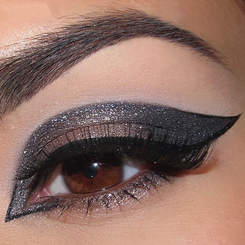 مدل شیک آرایش چشم / مدل سایه چشم جدید