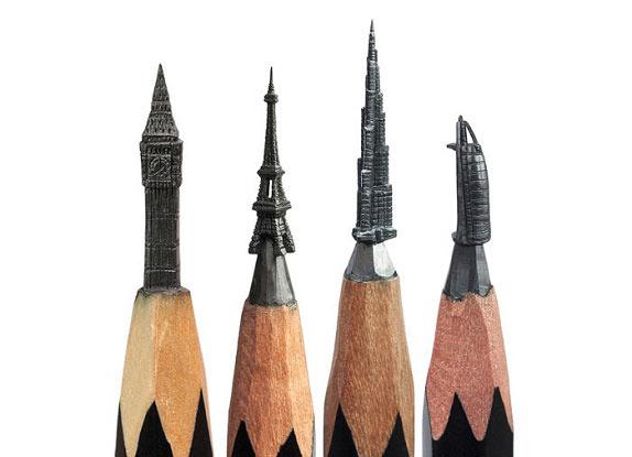 هنرنمایی با نوک مداد + تصاویر