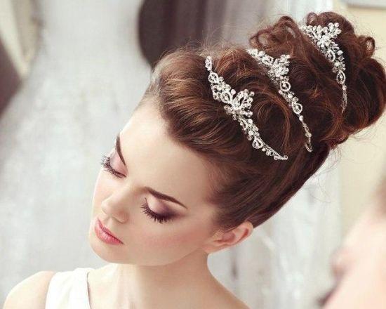 مدل آرایش صورت عروس + مدل آرایش مو عروس