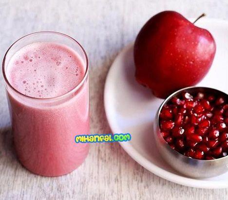 طرز تهیه نوشیدنی آب سیب و انار مخصوص شب یلدا