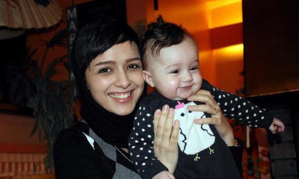 ترانه علیدوستی و دخترش / عکس