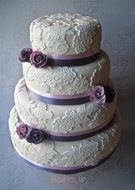مدل های جدید کیک عروسی چند طبقه