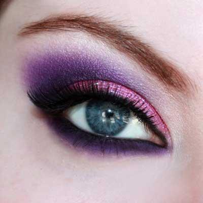 مدل جدید آرایش چشم ویژه زمستان ۹۴