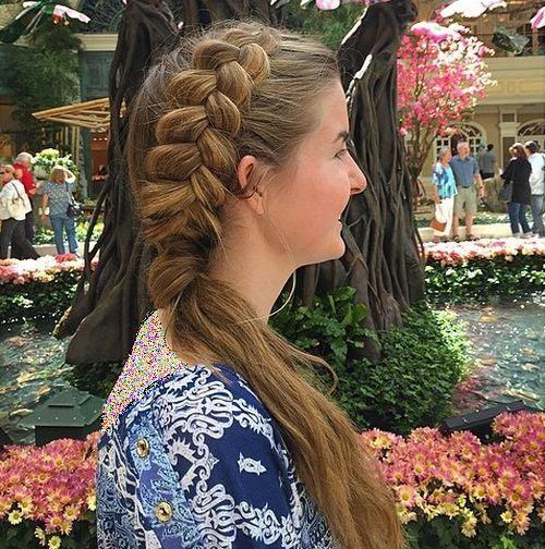 مدل های شیک بافت مو دخترانه