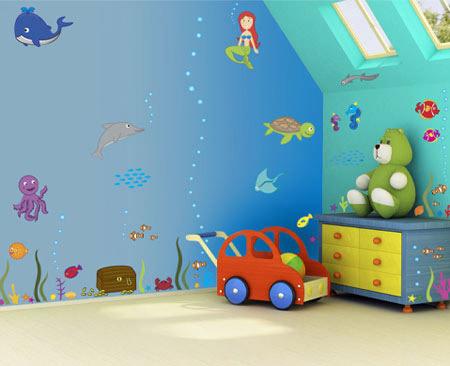 جدیدترین مدل کاغذ دیواری برای دکوراسیون اتاق کودک