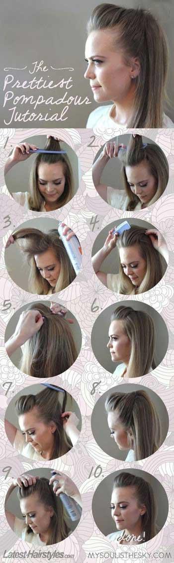 ساده ترین مدل بافت مو دخترانه ۲۰۱۶