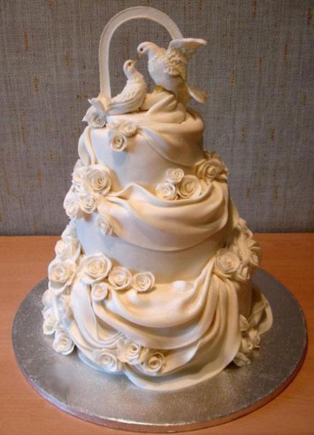 مدل جدید کیک عروسی چند طبقه (سری دوم)