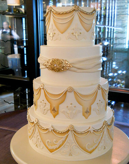مدل جدید کیک عروسی چند طبقه (سری اول)