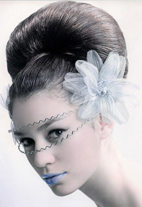 جدیدترین مدل شینیون مو دخترانه / مدل مو مجلسی دخترانه
