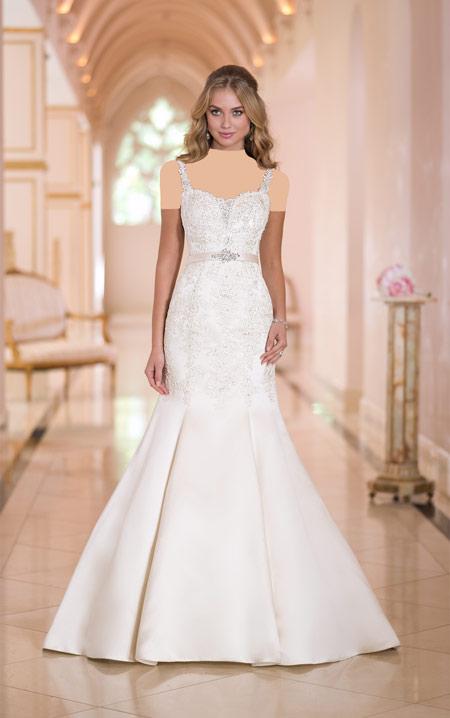 مدل های لباس عروس دانتل ۲۰۱۶