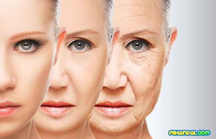 دلیلهای پیری زودرس
