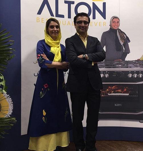 لباس زیبای الیکا عبدالرزاقی در کنار همسرش + عکس