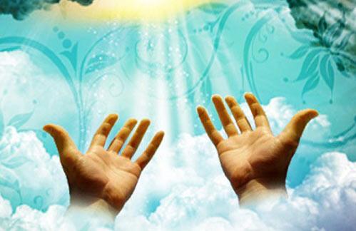 چرا بعد از دعا دست ها را به صورت می کشیم؟