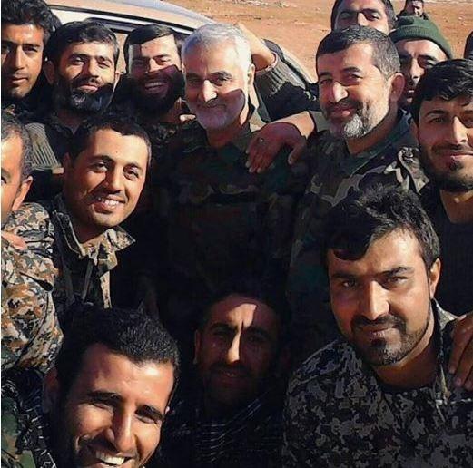 تصویر جدید از سردار سلیمانی در سوریه