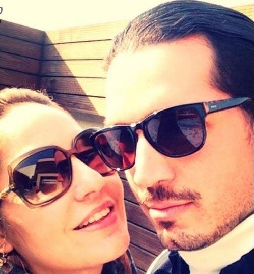مهناز افشار در کنار همسرش + عکس