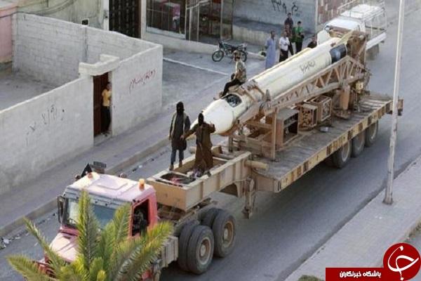عکسهای شهری که داعش بر آن حکومت می کند