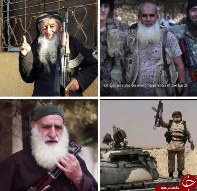 پیرمردهای داعشی/عکس