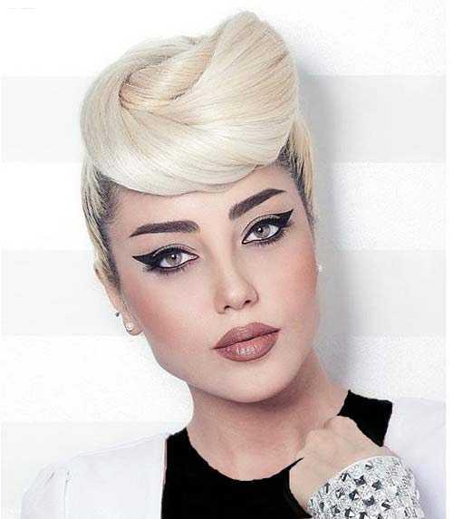 مدل جدید آرایش دخترانه / مخصوص نامزدی
