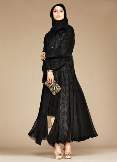 گالری مدل چادر عربی برند دولچه و گابانا