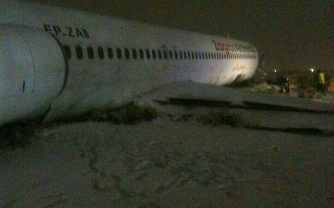 جزئیات و تصاویر سانحه هواپیمای مسافربری در مشهد