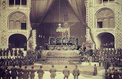 تصاویر تشییع جنازه ناصرالدین شاه