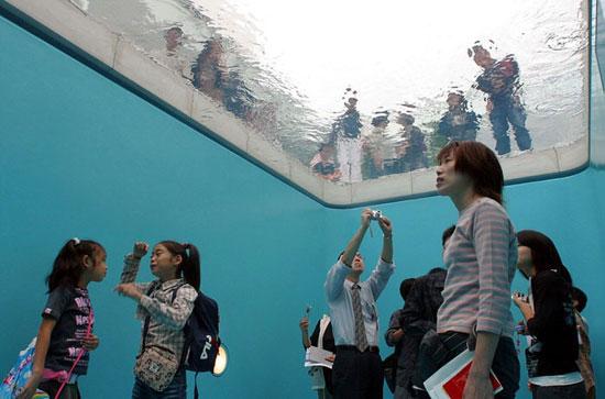 عجیب ترین استخر در موزه ژاپن +عکس