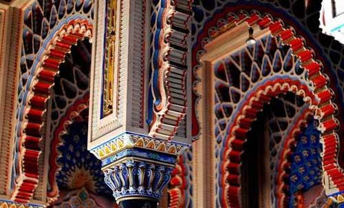 رنگارنگترین قصر در ایتالیا+عکس