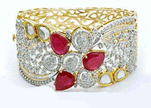 انواع مدل دستبند جواهر دخترانه ۲۰۱۶