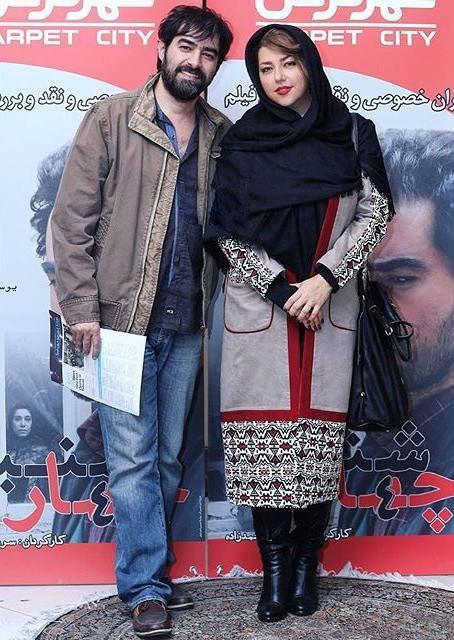 شهاب حسینی و همسرش+عکس