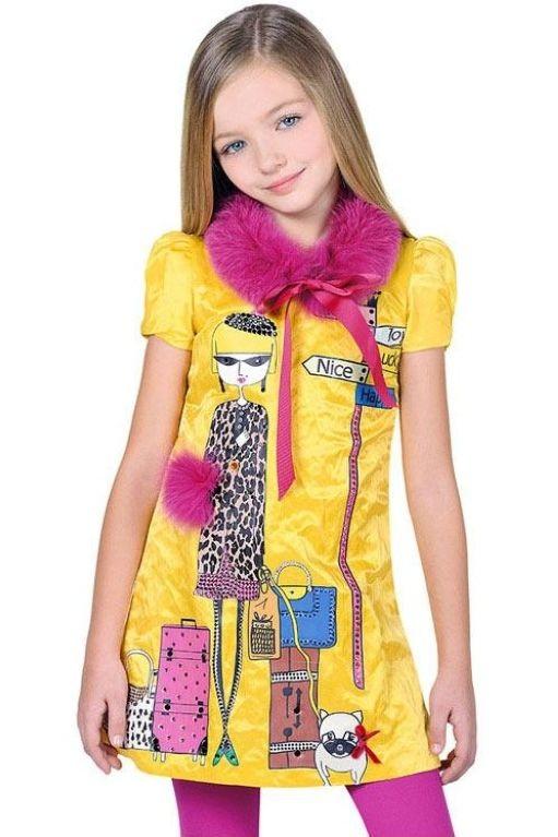 جدیدترین مدل لباس مجلسی دختر بچه ها / لباس بچگانه