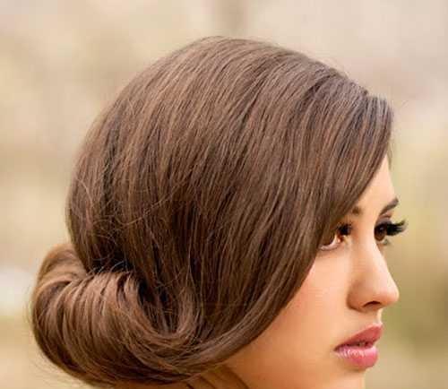 مدل جدید شینیون موی کوتاه مخصوص دختر خانمها
