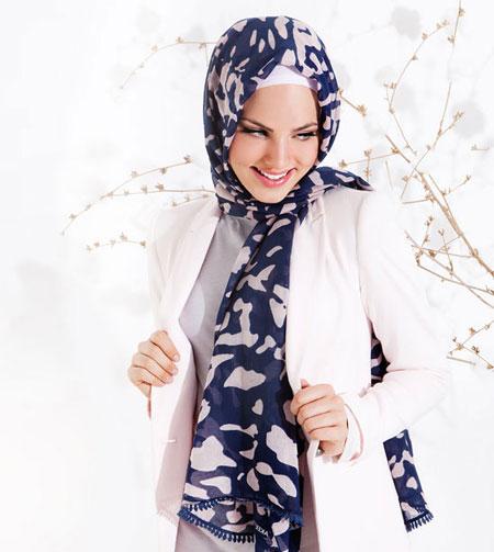 مدل روسری و شال مجلسی برند ترک