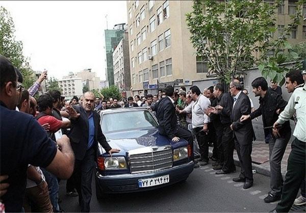 ماشین جدید هاشمی رفسنجانی+عکس