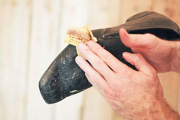چگونه کفش مان را با پوست موز واکس بزنیم