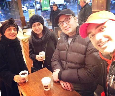 نیکی کریمی و لیلا زارع در آلمان+عکس