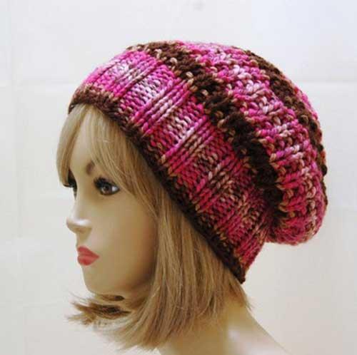 مدل های جدید کلاه بافتنی دخترانه
