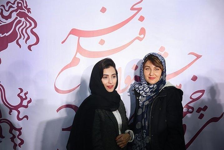 تیپ جدید دختر کیمیا در جشنواره فیلم فجر + عکس