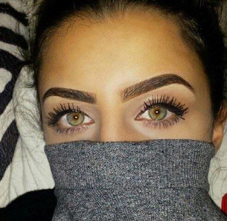 چشم های جذاب و زیبای دختر عراقی + عکس