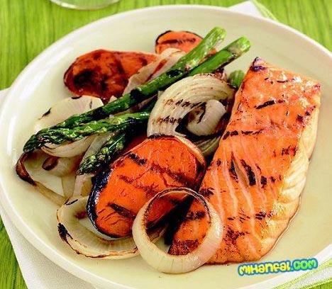 طرز تهیه ماهی سالمون مخصوص شب عید