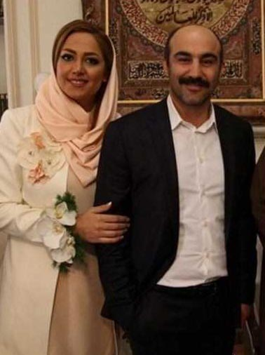 مراسم عقد محسن تنابنده و همسرش + تصاویر
